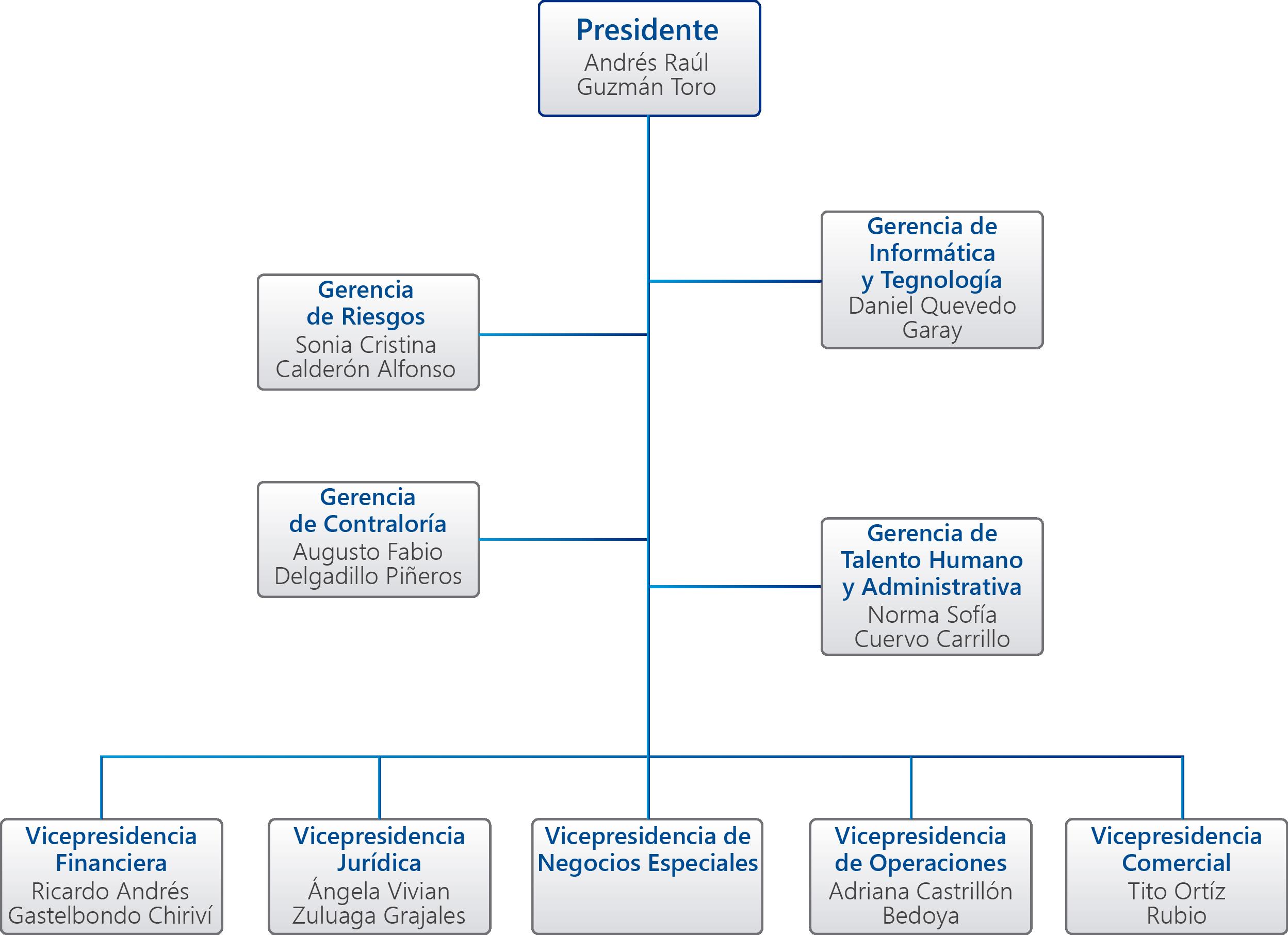 Estructura Organica Fiducoldex